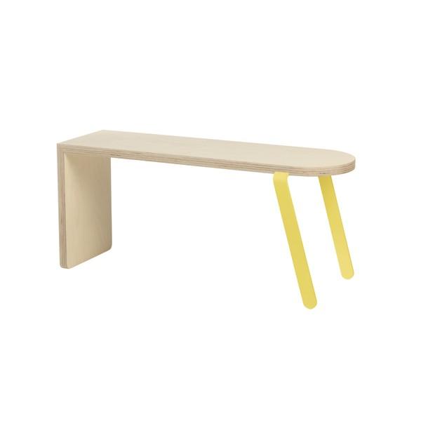 Bench Large Yellow