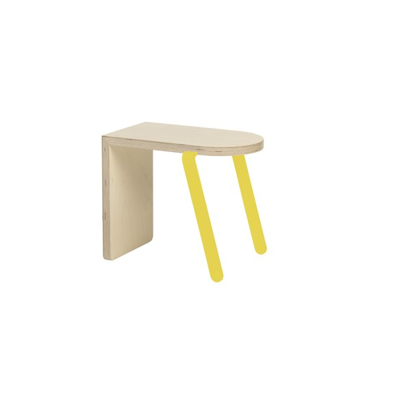 Bench Small Yellow