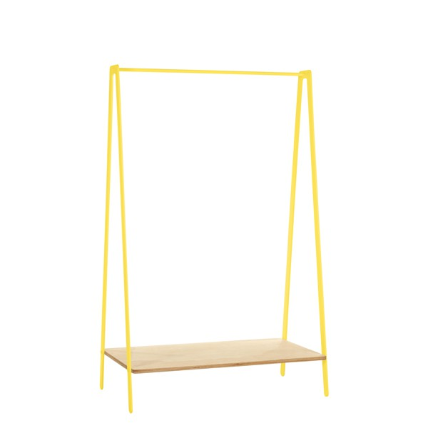 Clothes Rack Yellow