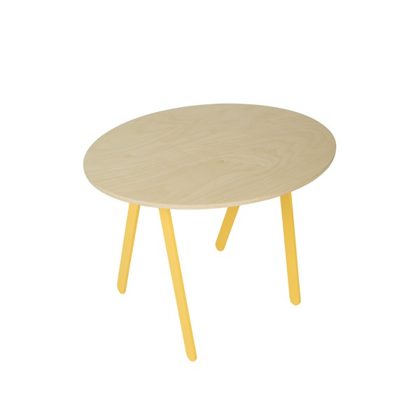 Playing Table Yellow